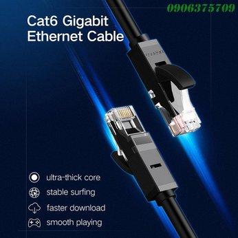 Cáp mạng CAT6 3m (màu đen) cao cấp Ugreen 20161