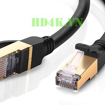 Cáp mạng Cat7 dài 0.5m đúc sẵn Ugreen 11229