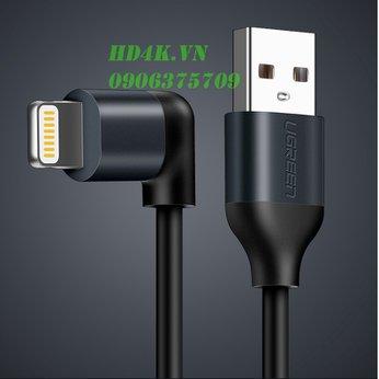 Cáp sạc  iPhone/Ipad góc 90 dài 1m Ugreen 50235