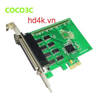 Card chuyển PCI-E to 8 cổng com (RS232)