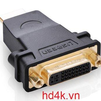 Đầu chuyển DVI to HDMI Ugreen 20123