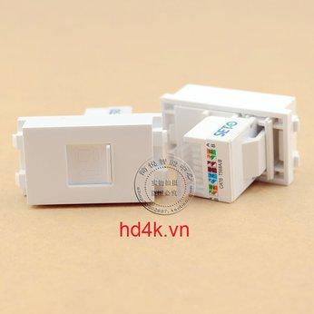 Đế âm tường  RJ45 CAT6 - Socket outlet