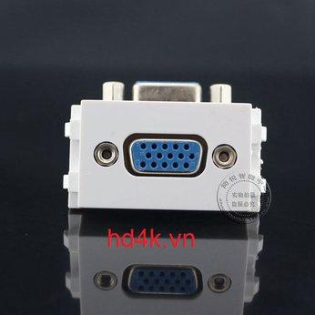 Đế âm tường VGA góc 90 - Socket outlet