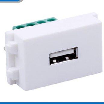 Socket outlet USB âm tường loại vặn vít HD-LINK