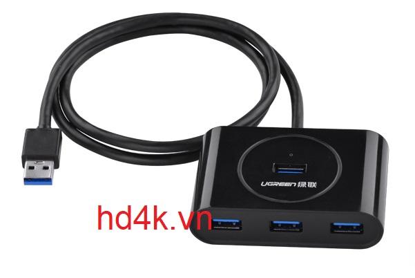 Bộ Chia USB 3.0 4 Cổng Ugreen 20283, 20290