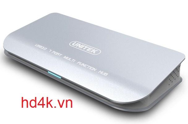Bộ chia USB 3.0 7 cổng Unitek Y-3180