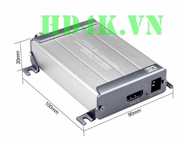 Bộ khuếch đại HDMI qua cáp đồng trục 300m  Mirabox HSV379