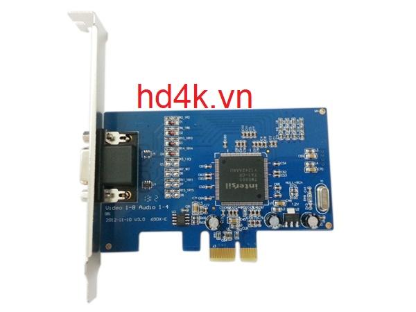 Card ghi hình camera BNC 4 port , chuẩn PCI-E