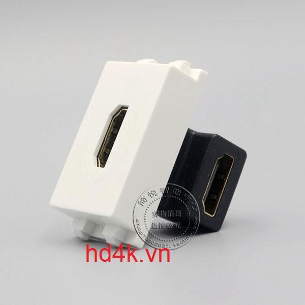 Đế âm tường HDMI góc 90 - Socket outlet