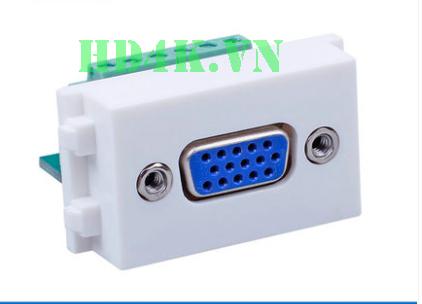 Socket outlet VGA âm tường loại bắt vít HD-Link