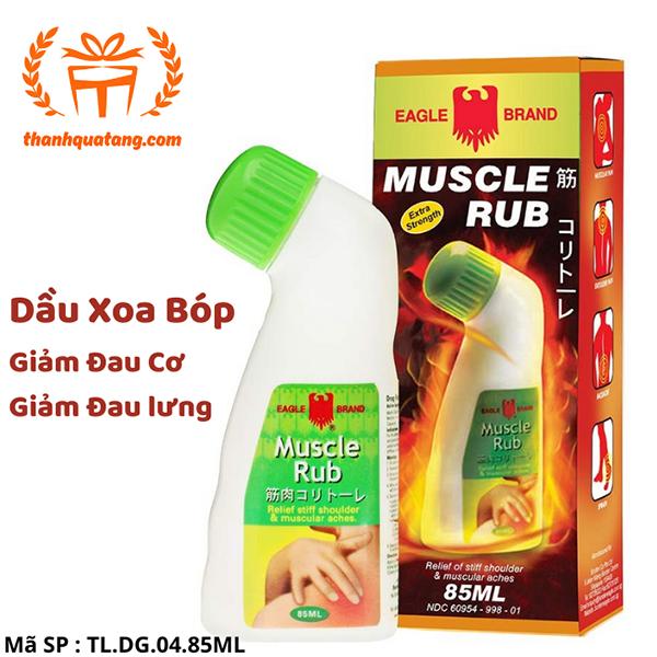 [Hàng Nhập Singapore] Dầu Xoa Bóp Muscle Rub 85ml. Giá Lẽ 80k/Chai