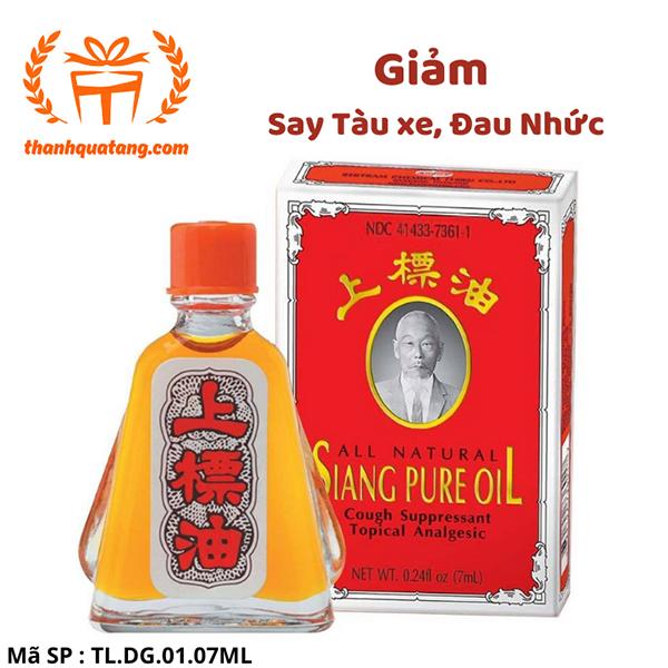 ⭐ [Hàng Chính Hãng] ‼ Dầu Gió Siang Pure Oil  7ML. Giá Lẽ 28k/Chai