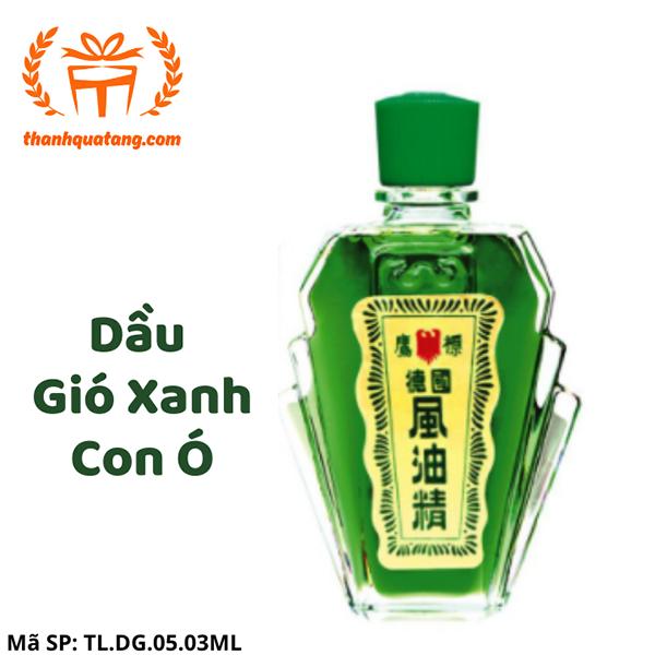 ⭐[Hàng Chính Hãng] Dầu Gió Xanh Con Ó Singapore. 3ml. Giá Lẽ 15k/chai