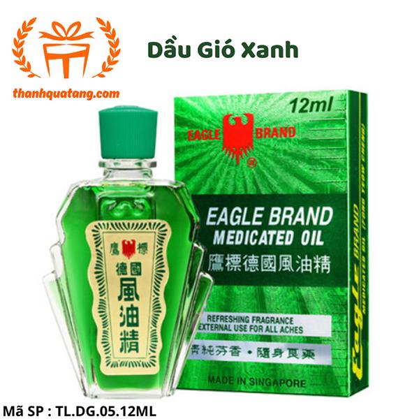 ⭐[Chính Hãng] Dầu Gió Sing  Eagle Brand 12ml. Giá Lẽ 43k/Chai
