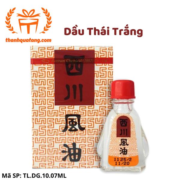 ⭐ Lốc 12 Chai Dầu Thái Trắng Siang Pure Chính Hãng. 7ml. 450K/Lốc.