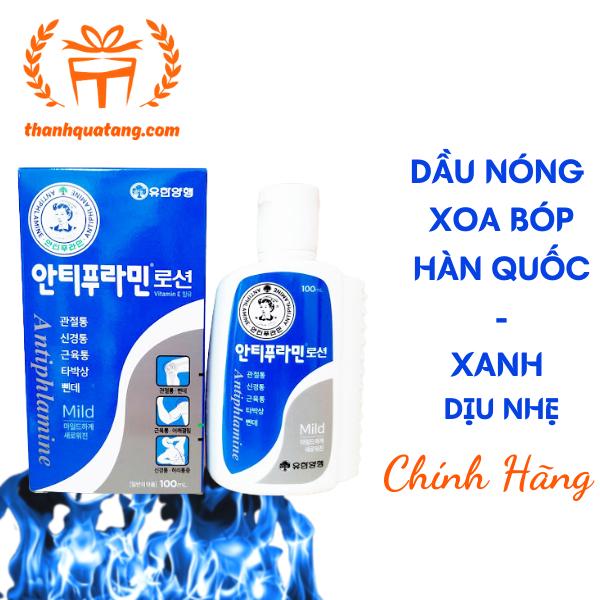 ⭐Dầu Nóng Hàn Quốc Antiphlamine Chính Hãng 100ml. Chai Đỏ 89K/Chai
