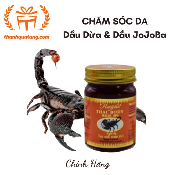 Dầu Cù Là Thái Tinh Dầu Dừa & Dầu JoJoba Dưỡng Da. Giá 70k/Hủ 50gr
