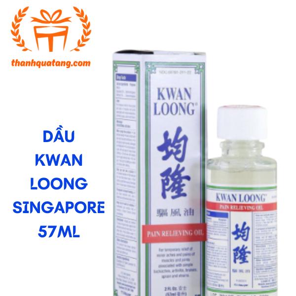 Dầu Nóng Kwan Loong Singapore 57ml. Giá 105k/Chai