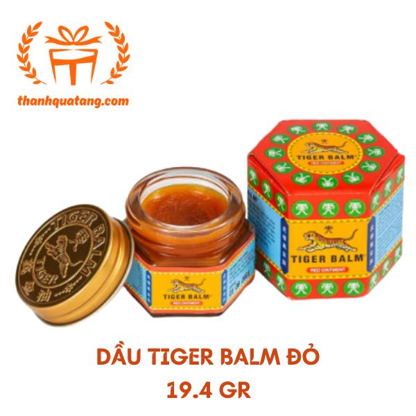 Dầu Tiger Balm Đỏ 19.4gr Chính Hãng Singapore. Giá Lẽ 55k/Chai