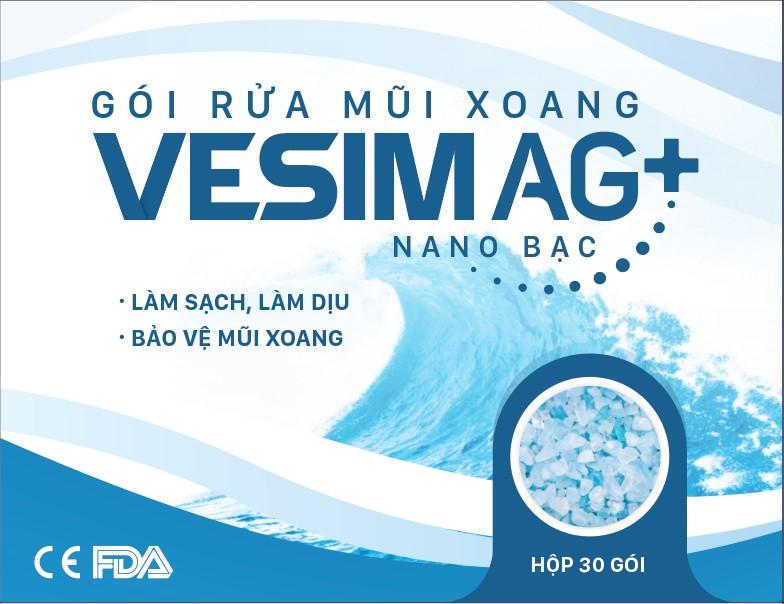 Gói Rửa Mũi Viêm Xoang VESIM AG+