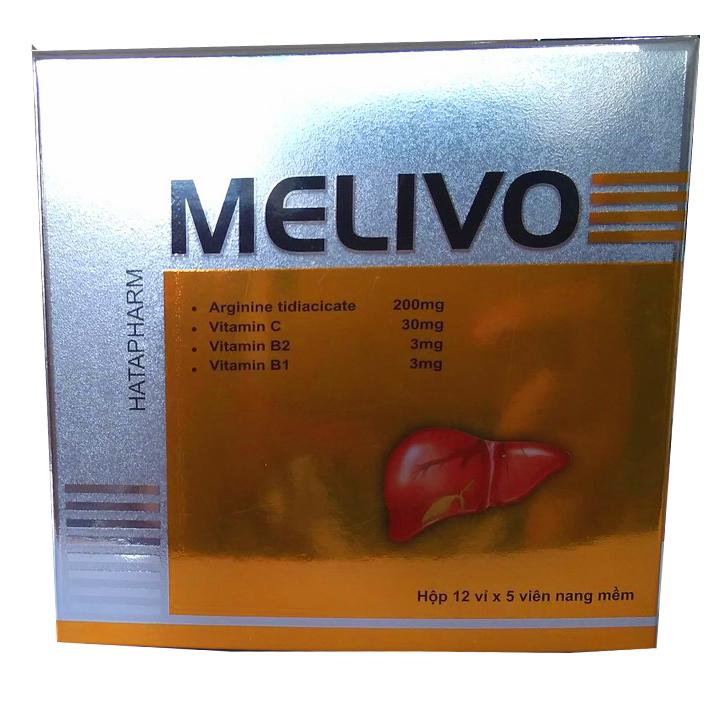 MELIVO ► Bổ Sung & Bảo Vệ Tế Bào Gan ◄ Hộp 60 Viên