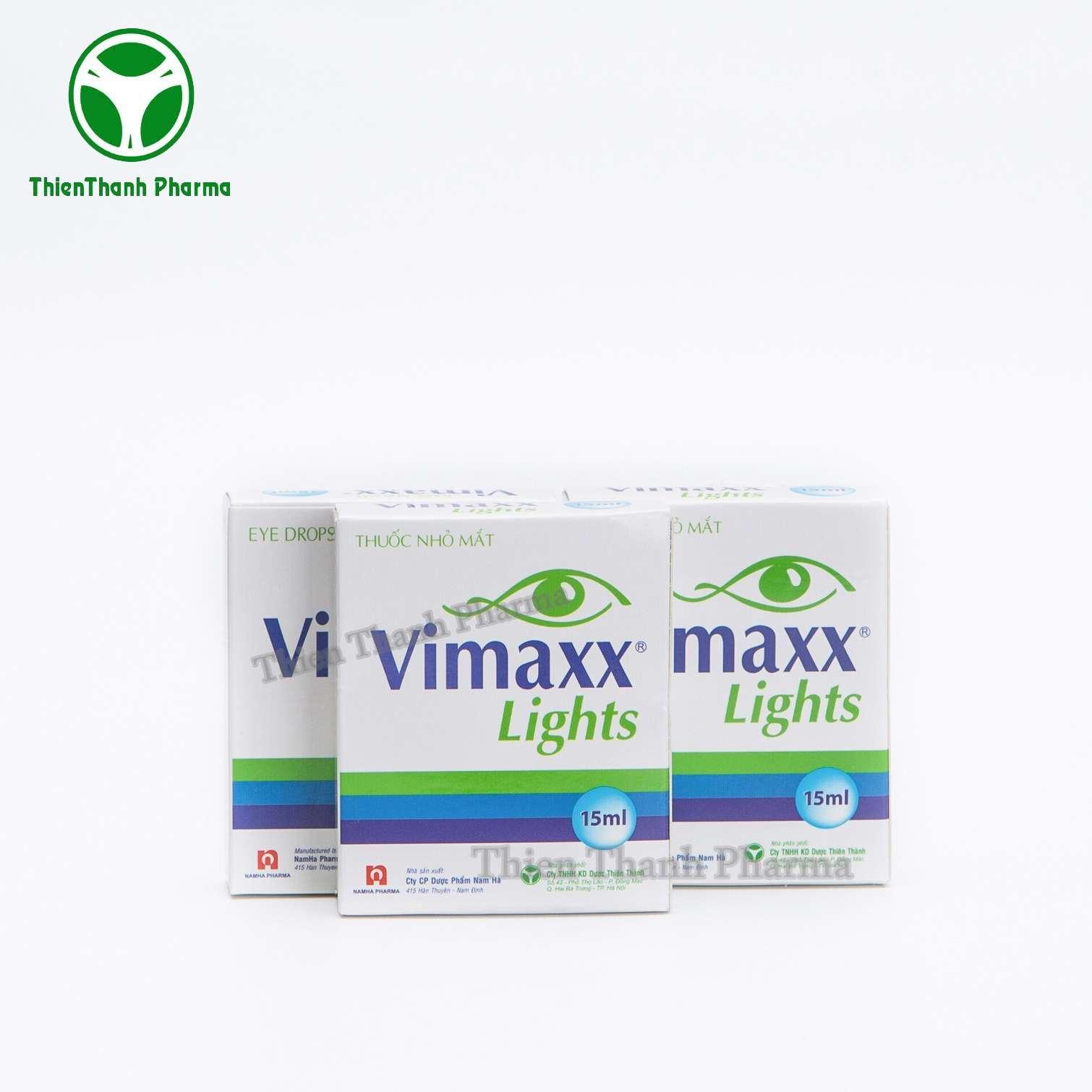 THUỐC NHỎ MẮT VIMAXX LIGHTS ✿ [100% Thiên Nhiên] ✿ Mắt Sáng Khỏe Mỗi Ngày✿