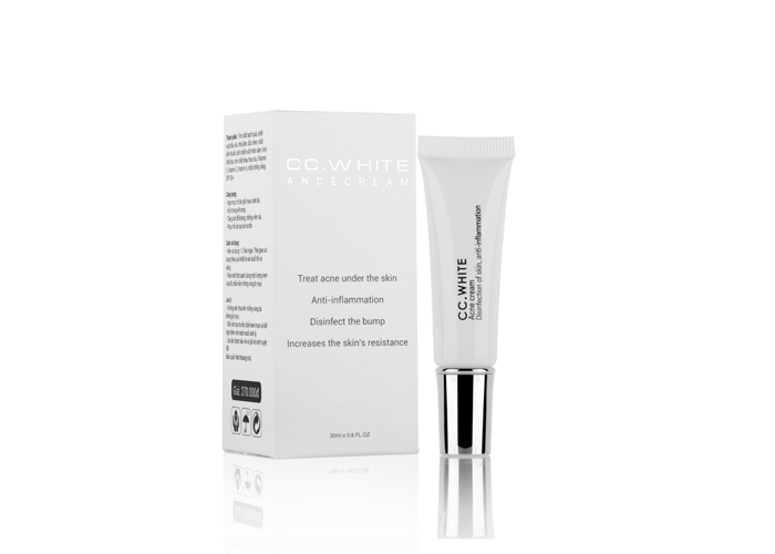 Kem đặc trị mụn anti-acnes CC White