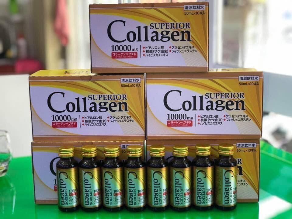 Nước uống Superior Collagen 10000mg Nhật Bản