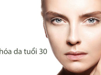 Lão hóa da ở phụ nữ sau tuổi 30