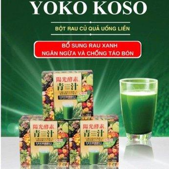 Bột rau xanh Yoko Koso Nhật bản