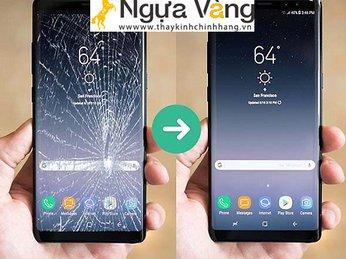 Khi nào cần thay mặt kính màn hình S8?