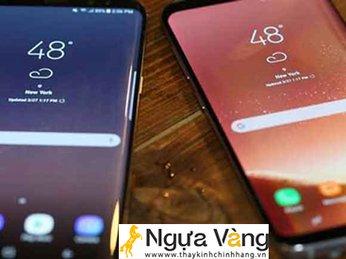 Những dấu hiệu cho thấy mặt kính điện thoại Samsung S8 bị hỏng