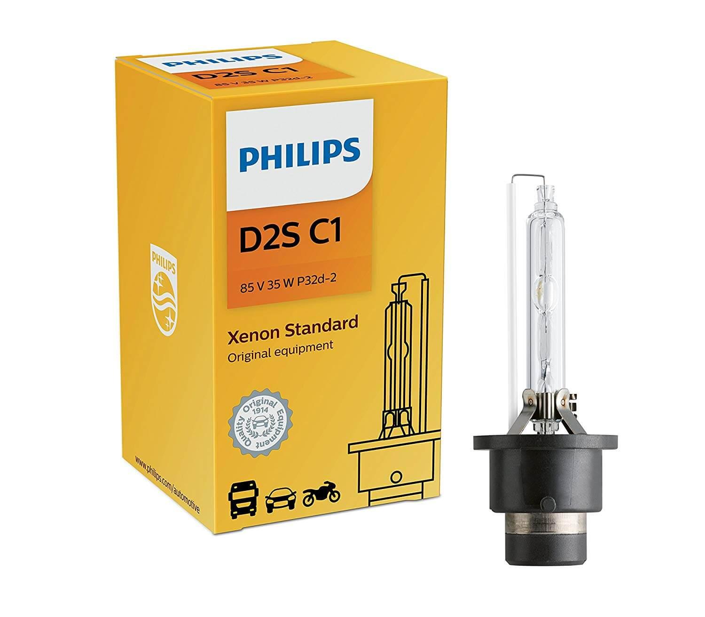 D2S 85122 4200K - Bóng đèn pha ôtô/ xe hơi Philips Xenon D2S 85122 85V 35W C1 sáng vàng tiêu chuẩn 4200K
