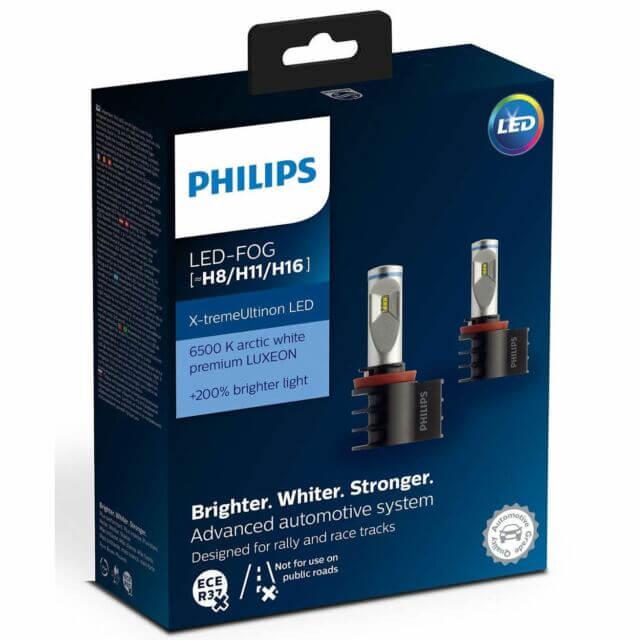 H11 LED 12794 6500K-  Bóng đèn pha Led xe ô tô/ xe hơi Philips H11 LED 12794 6500K (gầm )