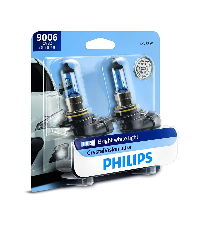 HB4 9006 4300K- Bóng đèn xe hơi/ xe ô tô Halogen Philips CRYSTAL VISION HB4 9006 CV 12V 55W ánh sáng 4300K