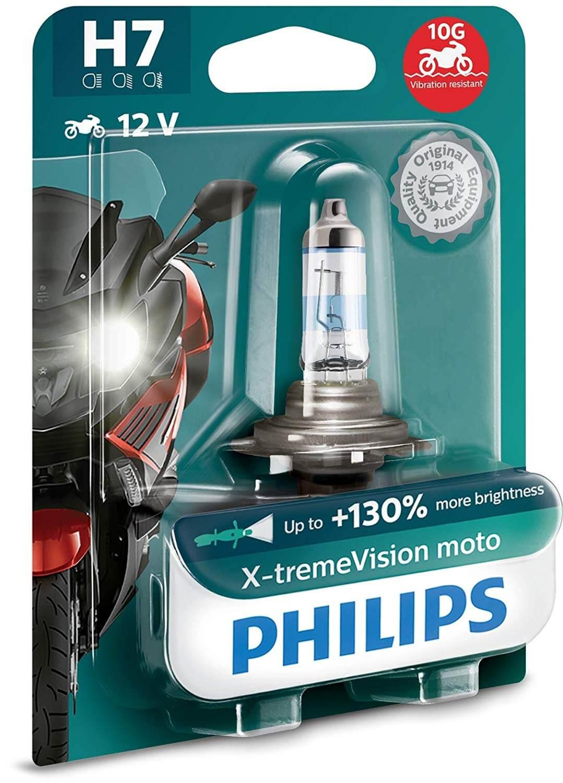 H7 12972 3700K - Bóng đèn pha ôtô/ xe hơi Philips Halogen H7 12972 XV+ 12V 55W PX26D S2 tăng sáng 130%, sáng vàng 3700K