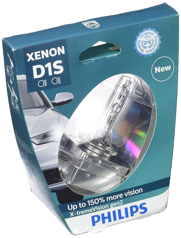 D1S 85415 4800K - Bóng đèn pha ôtô / xe hơi Philips Xenon D1S 85415 XV2 85V 35W  P32D-2 C1 Tăng sáng 150%, sáng vàng tiêu chuẩn 4800K