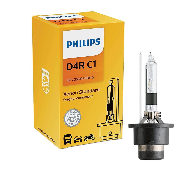 D4R 42406 4200K - Bóng đèn pha ôtô/ xe hơi Philips Xenon D4R 42406 42V 35W C1 sáng vàng tiêu chuẩn 4200K