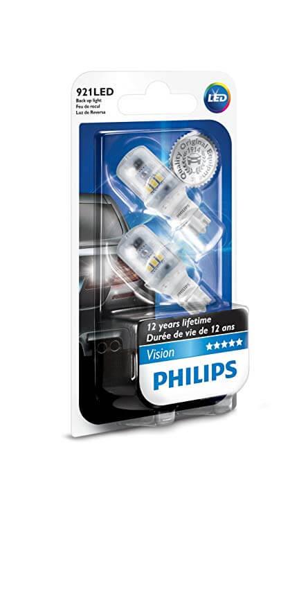 T16 LED  12789- Bóng đèn tín hiệu Led xe ô tô/ xe hơi Philips T16 LED  12789 12V 6000K - Trắng