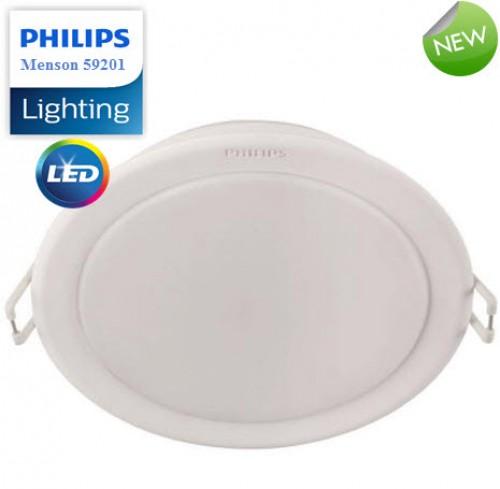 Đèn Downlight âm trần Led Philips 59448 MESON 105 7W 40K WH recessed LED