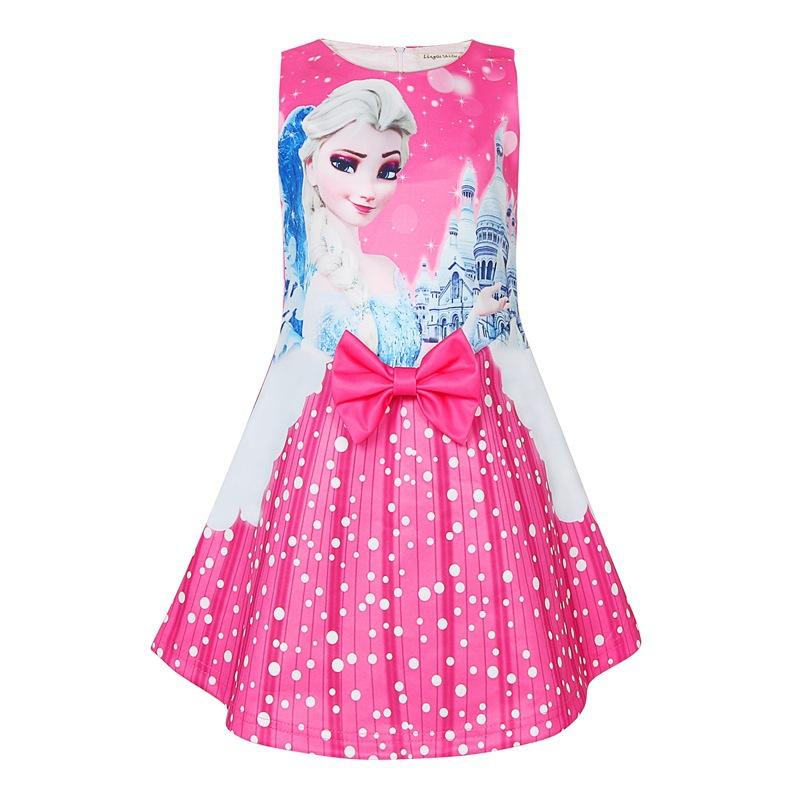 Đầm nữ hoàng băng giá Elsa Frozen 2 Elsa Vest