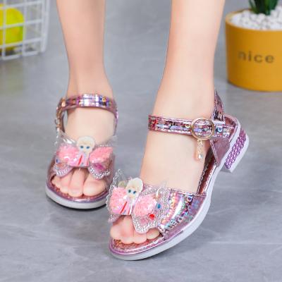 Dép sandal công chúa Elsa cho bé gái đi học, đi chơi