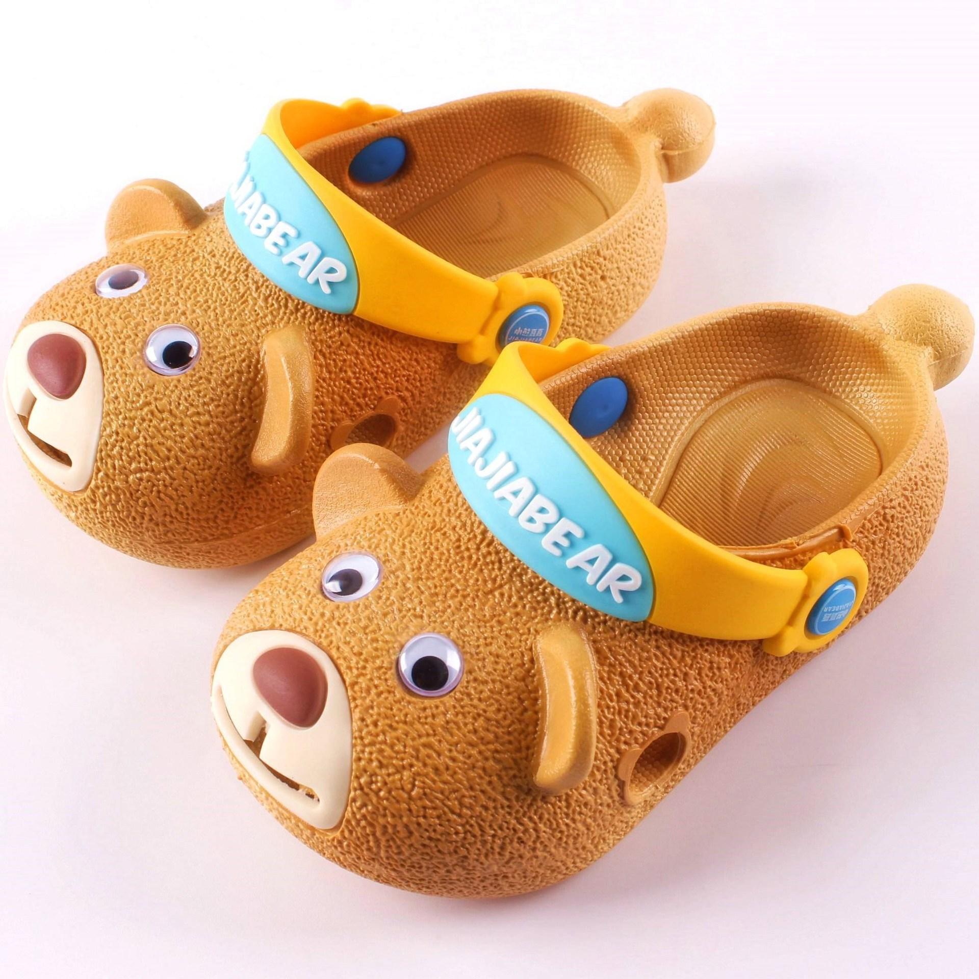 #Dép sục trẻ em hình gấu con dễ thương (Unisex)