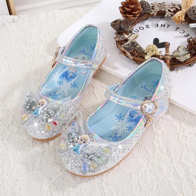 Giày búp bê công chúa Elsa mẫu mới 2021 cho bé 2-6 tuổi