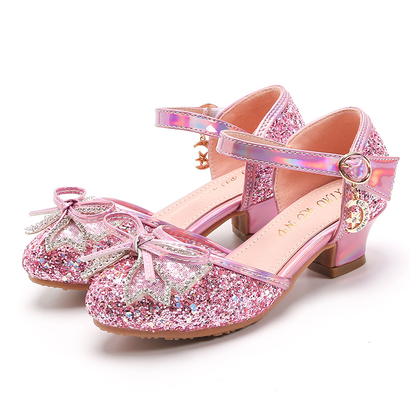 Giày cao gót công chú cho bé gái