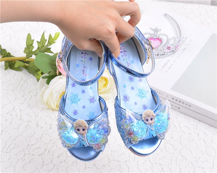 Giày sandal elsa cho bé gái