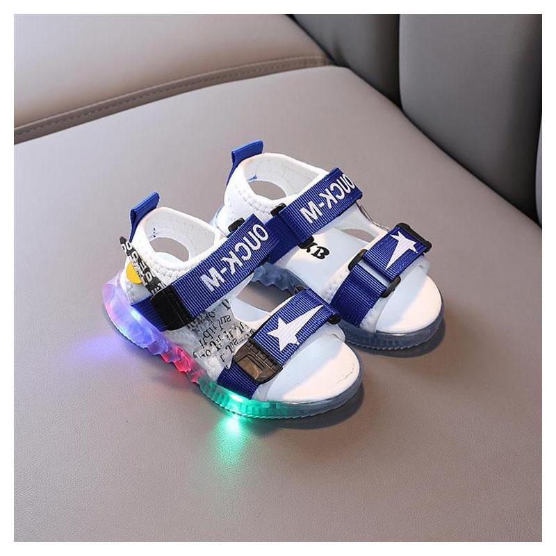 Sandal bé trai có đèn led phát sáng cho bé trai từ 1 - 5 tuổi