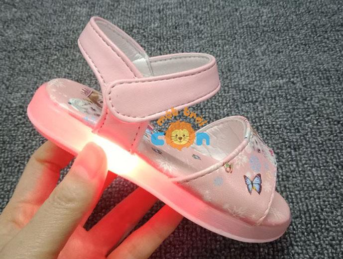 Sandal công chúa Elsa có đèn led