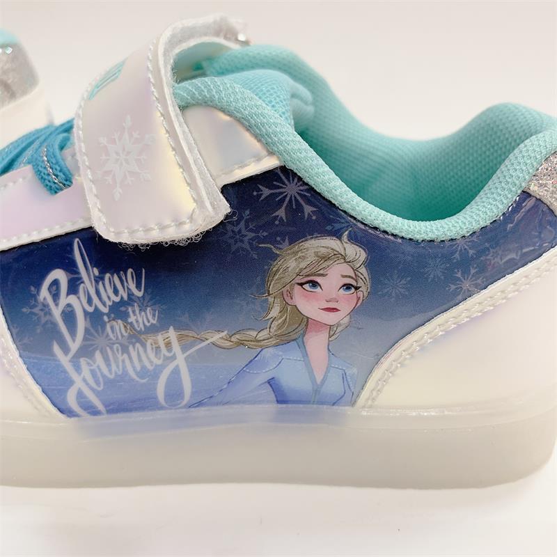 Giày thể thao công chúa elsa cao cấp có đèn led phát sáng