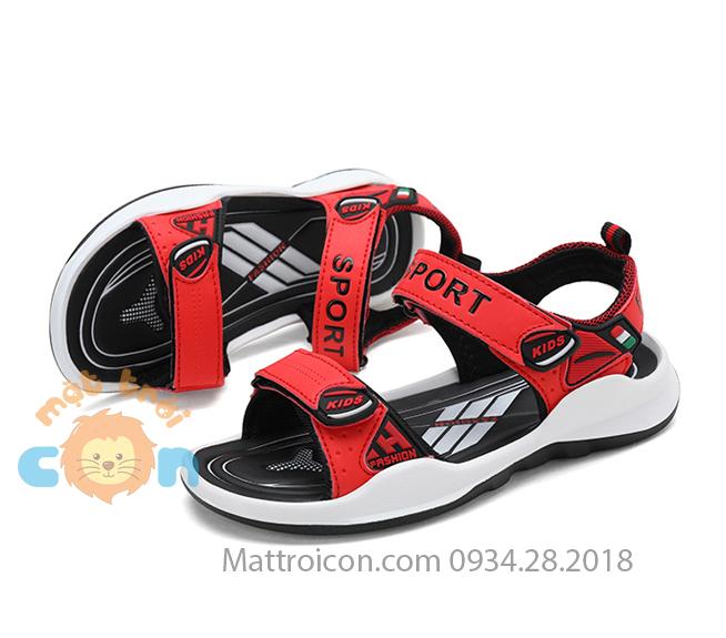【Sandal bé trai 】kiểu dáng thể thao cho bé trai từ 6 đến 12 tuổi.
